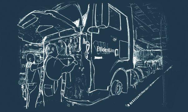 Сервисное обслуживание и ремонт грузовых автомобилей