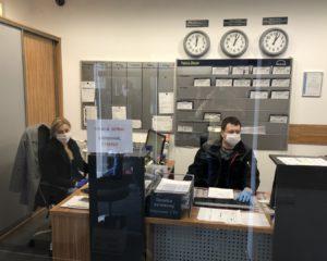 Режим работы в условиях пандемии