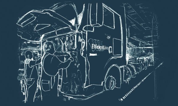 Serwis i naprawy pojazdów ciężarowych