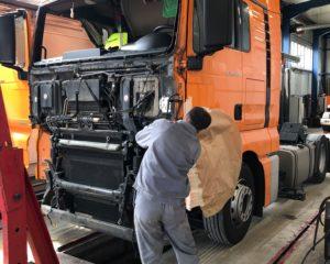 Naprawy powypadkowe pojazdów ciężarowych